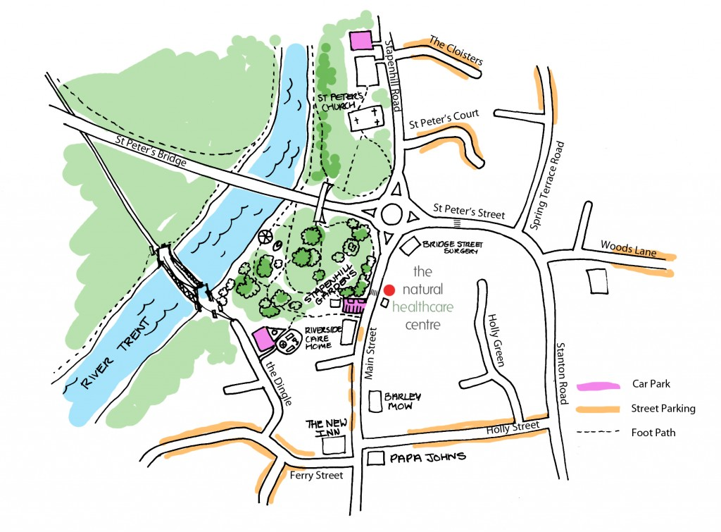 map of stapenhill